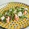 Фото к позиции меню Салат с креветками и кальмаром