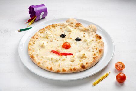 Пицца Три сыра Бамбини