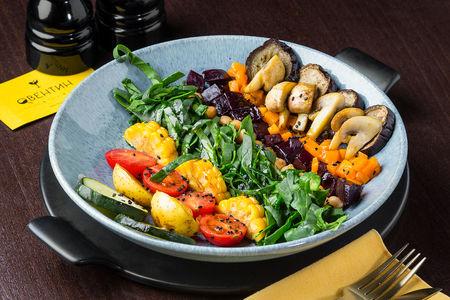 Салат Теплый овощной боулл