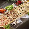 Фото к позиции меню Метровая пицца Четыре океана