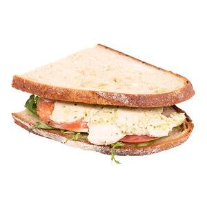 Сэндвич с курицей и жареными помидорами «Хлеб насущный»