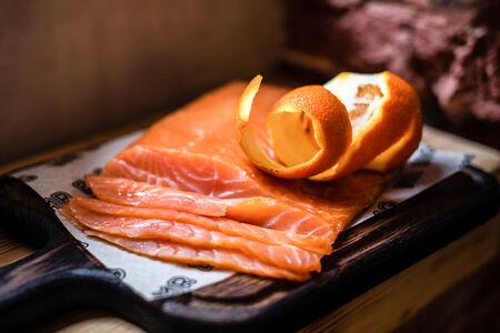 Фирменный лосось
