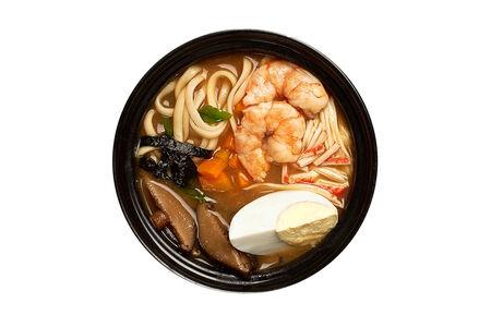 Суп Рамэн с морепродуктами