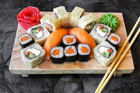 Набор с лососем
