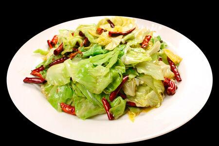 Припущенные овощи с лотосом