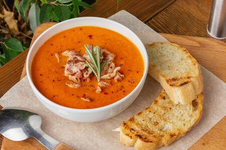 Суп Томатный с беконом