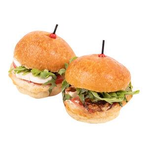 Мини-бургеры с сыром «Хлеб Насущный» 2 шт