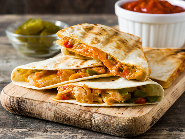 Taco fresh roll