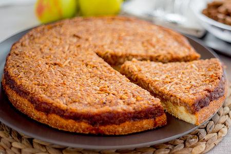 Пирог сладкий Варшавский яблочный