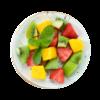 Фото к позиции меню Фруктовый микс Клубника, киви, манго