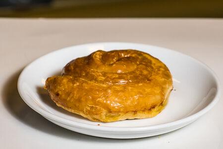 Сербский бурек с курицей и сыром