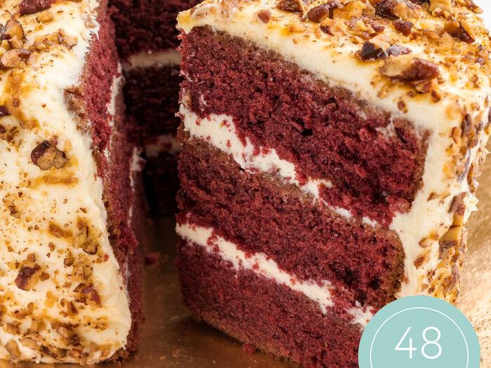 Красный бархат торт
