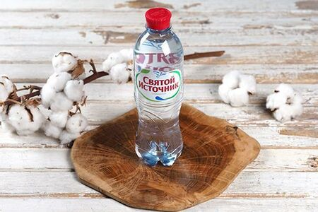 Минеральная вода Святой источник с газом