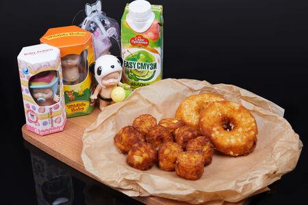 Комбо Хеппи Мил с куриными пончиками для девочек