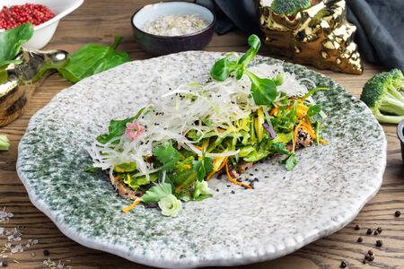Салат-сашими из тунца