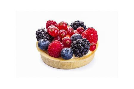 Тарталетка с лесными ягодами