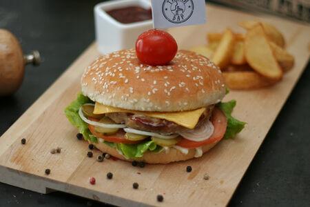 Гротбургер из говядины