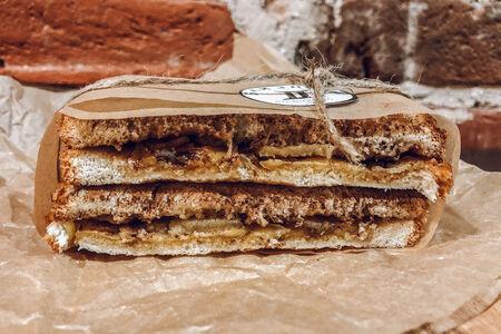 Сырный сэндвич с яблоками
