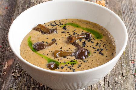 Крем-суп из таежных боровиков и опят