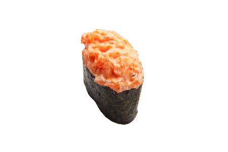 Гункан суши с лососем