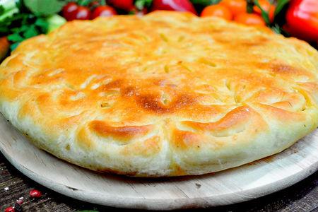 Пирог с телятиной и овощами