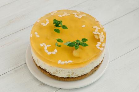 Сырный пирог-чизкейк  Медово-имбирный кедр