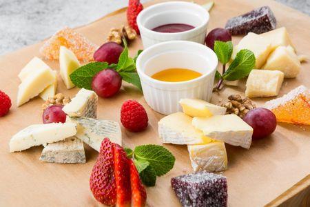 Итальянская сырная тарелка