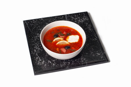 Суп Солянка по-домашнему