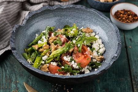 Салат Овощной с сыром надуги