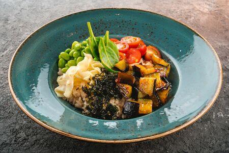 Овощной боул с рисом
