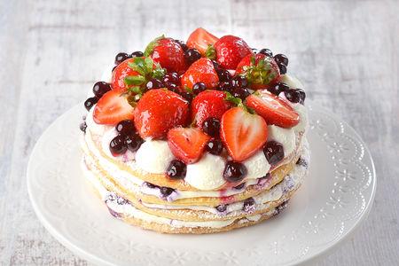 Торт Ягодный пунш