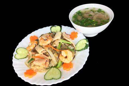 Миенсао с морепродуктами
