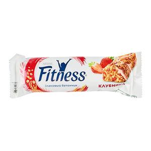 Fitness цельные злаки-клубника