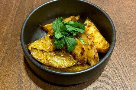 Картофель в перечном соусе