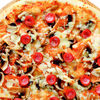Фото к позиции меню Пицца Фирменная с копченостями