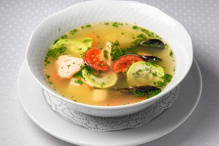 Суп Уха по-неаполитански