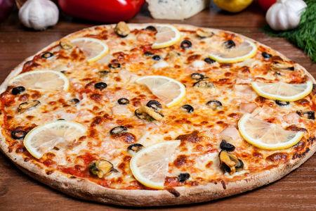 Пицца Морской пир