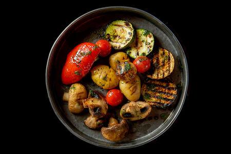 Овощи, запеченные в хоспере