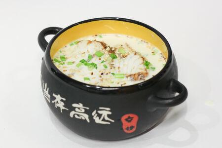 Суп Сливочный с угрем