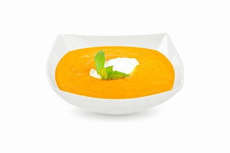Крем-суп из печеных овощей