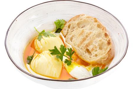Яйцо пашот по-турецки