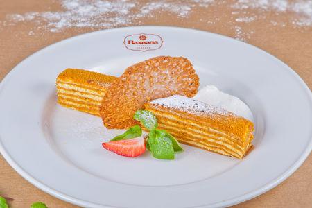 Торт Медовик из хлопкового меда
