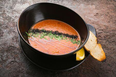 Суп пряная чечевица