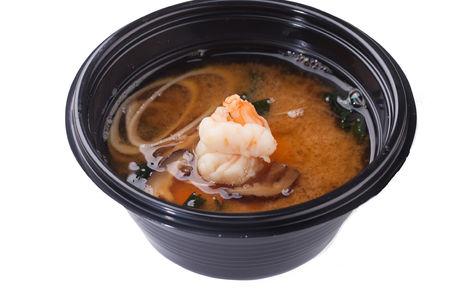 Мисо суп острый с креветкой