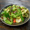 Фото к позиции меню Овощной салат с кунжутной заправкой