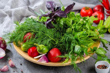 Букет из бакинских овощей