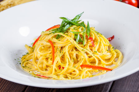 Спагетти Алиолио Пеперончино