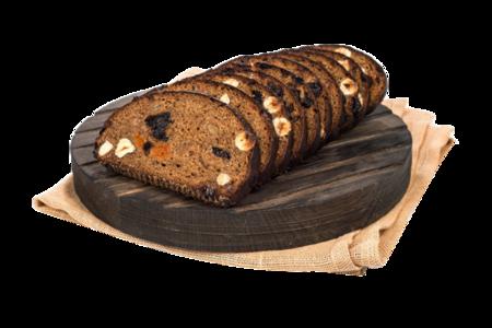 Хлеб Десертный с орехами сухофруктами и медом