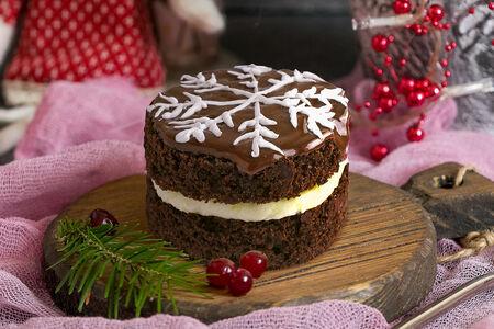 Пирожное Снежинка