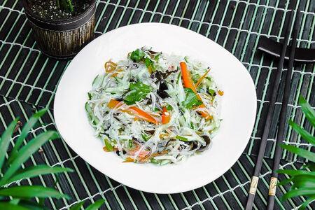 Салат по-пекински с фунчозой